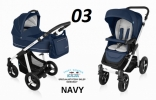 Baby Design LUPO COMFORT 2w1 NEW 2016 kolor 03-Navy DESIGN LC-03