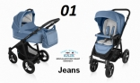 Baby Design LUPO COMFORT 2w1 NEW 2016 kolor 01-Jeans DESIGN LC-01